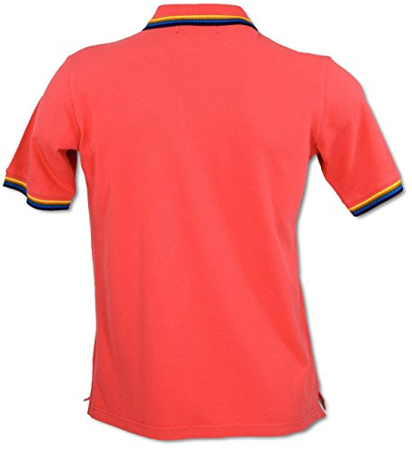 Carlo Colucci Polo-Shirt Rot