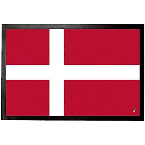 Danimarca - Bandiere Del Mondo Zerbino (60 x 40cm)