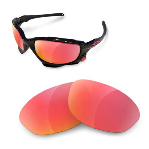 sunglasses restorer Custom Wechselgläser für Oakley Jawbone (Polarized Ruby Red Gläser)