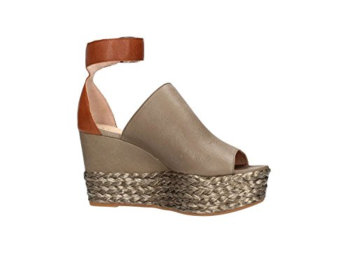 Unisa Lute Sandal Femme Sage / Cuir