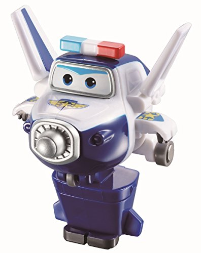 Spielzeug Fliegende Transformer (Super Wings - Mini Transform a Bots Paul Transformer Flugzeuge Spielzeug)