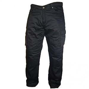 Australian Bikers Gear Motorcycle Grey Camo Cargo jeans with DuPontTM KEVLAR® ARAMID FIBRE Removable Armour UK40S-EU50S