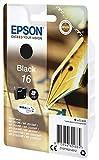 Epson Original T1621 Füller, wisch- und wasserfeste Tinte (Singlepack) schwarz Test