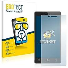 BROTECT AirGlass Protector Pantalla Cristal Flexible Transparente para Cubot Zorro 001 Protector Cristal Vidrio - Extra-Duro, Ultra-Ligero, Ultra-Claro