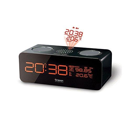 Oregon Scientific Projector Alarm Clock Reloj proyector