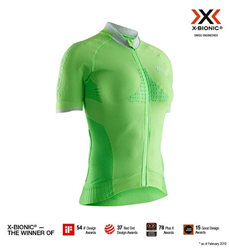 X-Bionic Invent Bike Race Zip Short Sleeve Shirt
