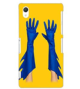 SONY XPERIA Z2 HANDS Back Cover by PRINTSWAG