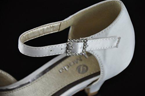 Brautschuhe chaussures chaussures escarpins mariage ivoire 08619 blanc crème - Cremeweiß (Ivory)