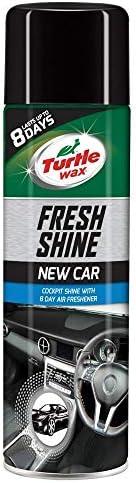 Turtle Wax 51787 Fresh Shine Car Cockpit Shine & Air Freshner New Car S