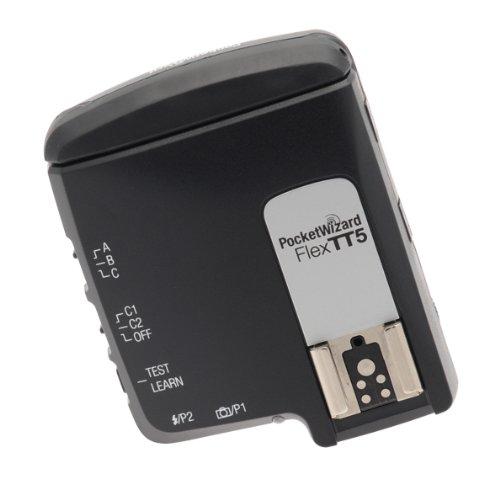 Pocket Wizard-radio (PocketWizard FlexTT5 Transceiver für Nikon-Modelle, 433 MHz)