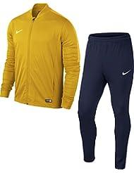 Nike - Academy16 Yth Knt - Survêtement -  Enfant - Multicolore (rouge/noir/Blanc) - Taille: M (10-12Ans / 137-147cm)