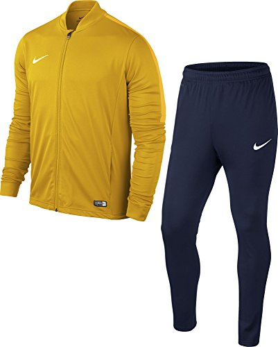 Nike Academy16 Yth Knt Tracksuit 2, Chandal Infantil, Amarillo University Gold/Obsidian/White, talla...