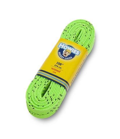 Howies gewachst Eishockey Skate Schnürsenkel alle Größen alle Farben Skaten Inline Roller, grün