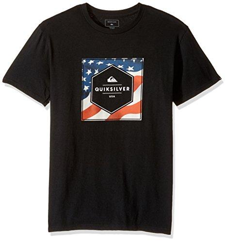 Quiksilver Herren T-Shirt Schwarz