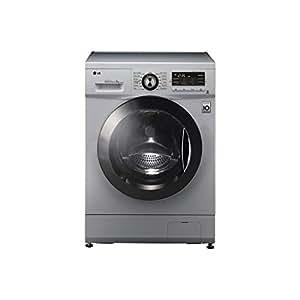 lg f1296tda5 6 motion direct drive 8kg 1200rpm silver freestanding washing machine. Black Bedroom Furniture Sets. Home Design Ideas
