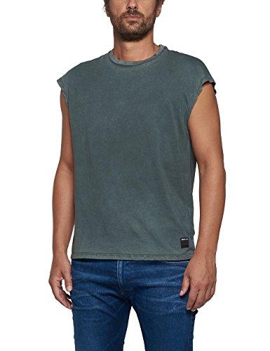 Replay Herren T-Shirt grau grau Einheitsgröße Grey