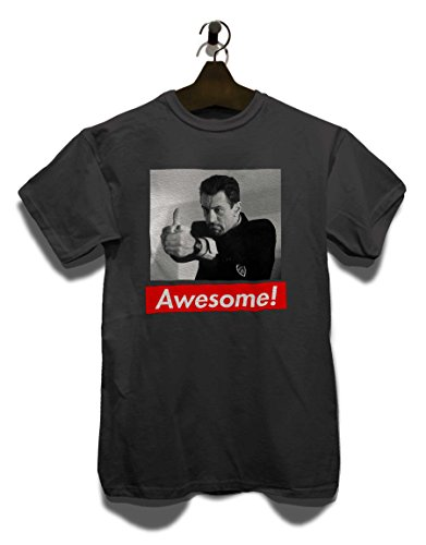 Awesome 33 T-Shirt Grau