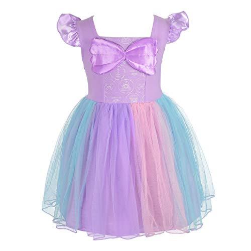 Baby Angel Kostüm - Lito Angels Baby Mädchen Prinzessin Meerjungfrau Kleid Kostüm Weihnachten Halloween Party Verkleidung Karneval Cosplay Kinder 18-24 Monate