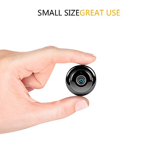 MENRAN WiFi HDQ15 Mini Kamera 1080P HD Mini WiFi Wireless Nanny Cam Mini Home Security Kamera Überwachungs-Kamera mit Nachtsicht und Bewegungserkennung - Cam Vision Xbox