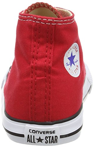 Converse Chuck Taylor All Star Season Hi, Baskets mode fille Rouge