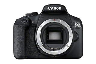 Canon EOS 2000D DSLR Camera Body - Black (B07B12XRBL) | Amazon price tracker / tracking, Amazon price history charts, Amazon price watches, Amazon price drop alerts