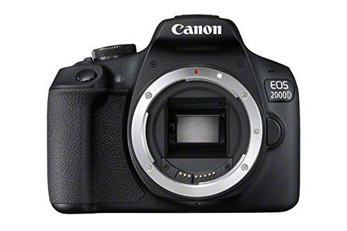 Canon EOS 2000D DSLR Camera Body - Black