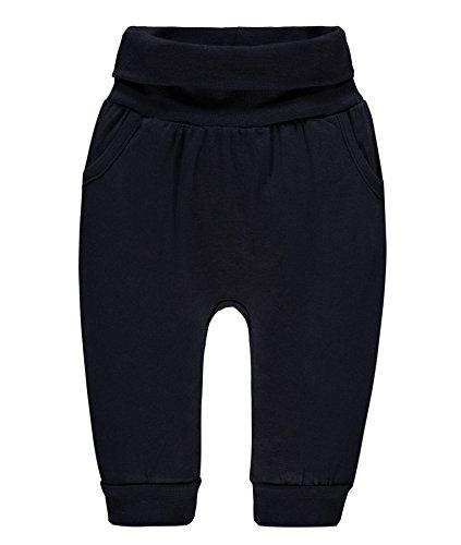 Steiff Unisex Baby Hose Jogginghose, Blau (Marine 3032), 56