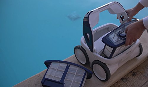 Gre R44SP Track 4x4 - Robot Eléctrico Limpiafondos de Piscina, 16.000 l/h