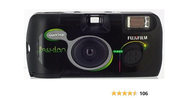 Fujifilm 7130784 Quicksnap Flash 27 Einwegkamera Iso Kamera