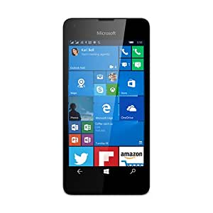 "Microsoft Lumia 550-Smartphone de 4,7"" (1 Go de RAM 8GB Windows 10) Blanc"