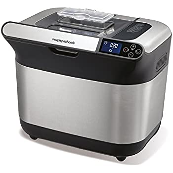 Morphy Richards - 48319 - Machine à pain, 600 watts, Argent