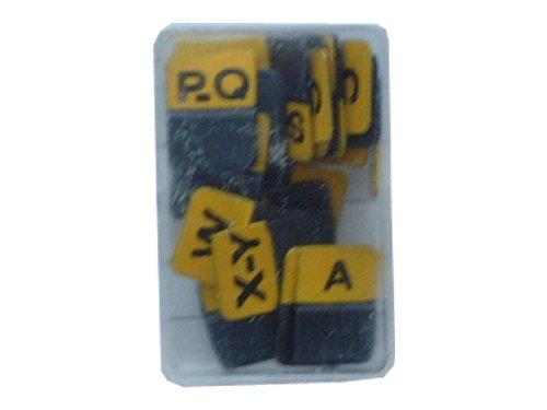 Exacompta 134804B DoppelKartenreiter (15 mm) 50er Pack gelb