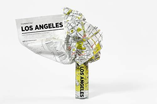 Stadtkarte mit Knittereffekt Los Angeles