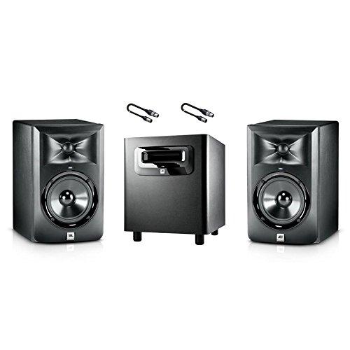 JBL Set Monitor-Studio LSR 305/Subwoofer/Audio Kabel XLR/XLR 5mt Bundle
