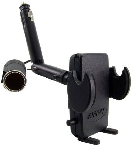 Arkon Handy Auto KFZ Zigarettenanzünder Halterung für iPhone 76S 6Plus 76S 6Galaxy Note Retail schwarz (Arkon Iphone-auto-halterung)