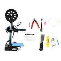 Impresora 3D, DIY kit de la máquina auto-montaje de la pantalla LCD marco de metal de una impresora de escritorio 3D Display Soporte MAC WIN Vista System Linux, en Oficina y Hogar