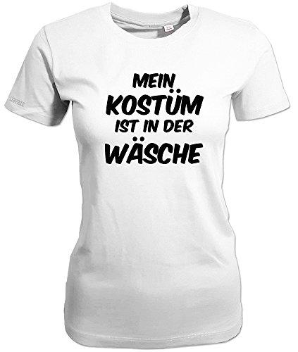 Jayess Mein KOSTÜM IST IN der WÄSCHE - Weiss - Women T-Shirt by Gr. XXL