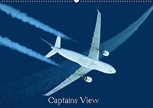Captains View (Wandkalender 2020 DIN A2 quer): Blick ins und aus dem Cockpit (Monatskalender, 14 Seiten ) (CALVENDO Orte)