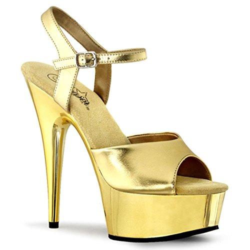 Heels-Perfect, Sandali donna Oro (Gold (Gold))