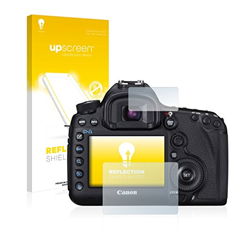 Cover Canon 5d (upscreen Reflection Shield Matt Displayschutzfolie Canon EOS 5D Mark III Schutzfolie Folie – Entspiegelt, Anti-Fingerprint, Made in Germany)