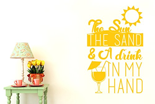the-sun-the-sand-and-a-drink-in-my-hand-wall-stickers-art-decals-large-height-88cm-x-width-57cm-dark