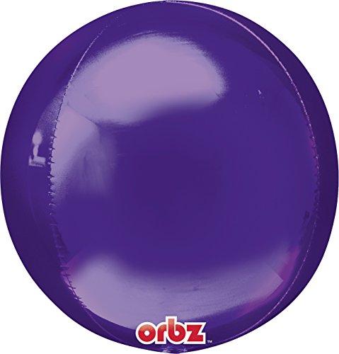 amscan 15Zoll/38cm Orbz Folienballon (lila) (Anagramm Halloween Ballons)