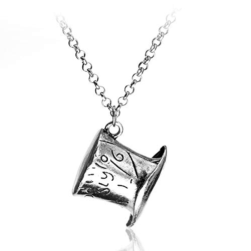 Alice Im Wunderland Hat Low Mad Hatter Hut Hat Silver Pendant Necklace High Quality Collars Frauen Männer Halskette Schmuck