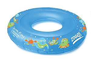 Zoggs Boy's Swim Inflatable Floatation Ring - Blue, 2-3 Years