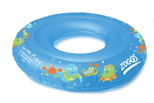 Zoggs Boy's Swim Inflatable Floatation Ring - Blue, 2-3 Years Test