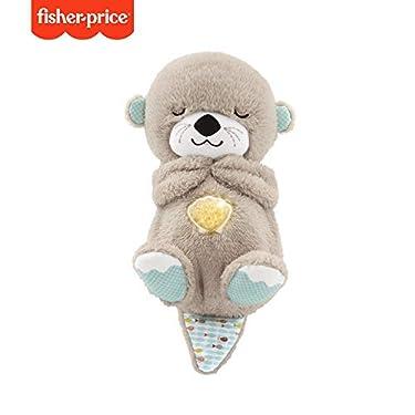 Fisher-Price-Nutria-Hora-de-Dormir-Juguete-de-Cuna-y-Peluche-para-Beb-Recin-Nacido-Mattel-FXC66