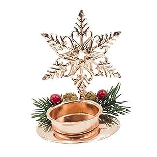 Candelabro de Navidad Hierro forjado Decoraciones navideñas Candelabro Fiesta de Año Nuevo Bodas del hogar Adorno Centro de mesa Mesa de escritorio Configuración y regalosk Árbol Copo de nieve Corazón