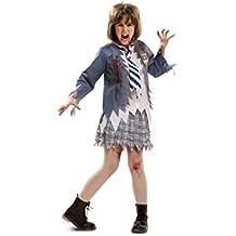 My Other Me - Disfraz de estudiante zombie chica para niña, 10-12 años (Viving Costumes 201915)