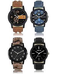 Sunstar Exclusive Premium Quality Quartz Analog Watches Combo For Men's & Boy's - Combo Of 4 - SW06-0015