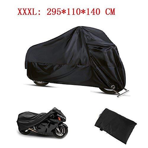 Funda Moto 190T Cubierta Impermeable de Motocicleta Protector Cubierta para Moto/Motocicleta Funda...